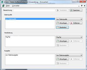 Daten-Aufbereitung-Umwandlung